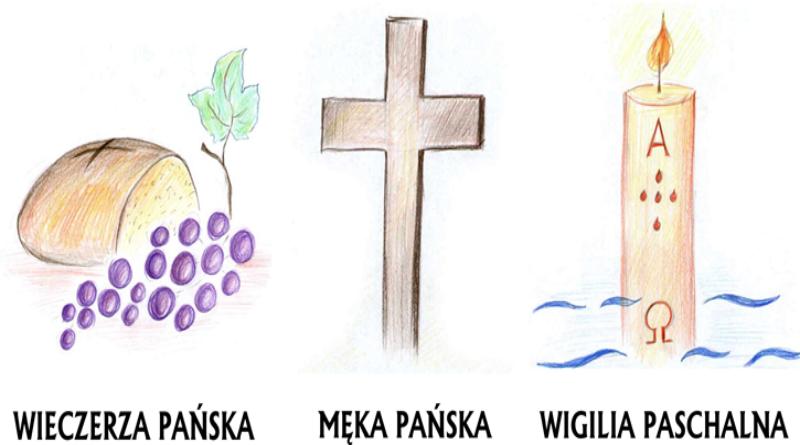 Święte Triduum Paschalne w naszej parafii. – Parafia Rzymskokatolicka pw.  św. Maksymiliana Marii Kolbe w Aleksandrii