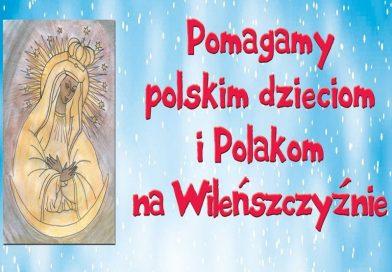 Na 100-lecie Niepodległości 100 kg dla polskich rodzin z Wileńszczyzny